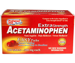 Acetaminofen 500 mg