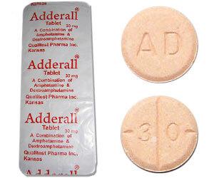 efectos secundarios de micción frecuente adderall